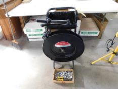 Uline Banding Cart with Tools & Clips (LOCATED IN ST. AUGUSTA, MN.)