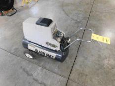 Sanborn Black Max 3-1/2 HP Air Compressor (LOCATED IN ST. AUGUSTA, MN.)