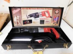 Milwaukee Heavy Duty Super Sawzall Model 1924-999 Limited Edition, Collectors Edition 046719 (LOCATE