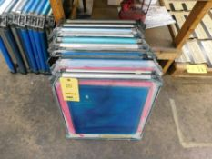 LOT: (11) Aluminum Screen Printing Frames (LOCATED IN ST. AUGUSTA, MN.)