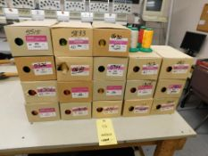 LOT: (18) Boxes of Open & Unopened Ackermann ISA Corp. Embroidery Thread (LOCATED IN ST. AUGUSTA, MN