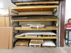 Section 9.5 ft. x 8 ft. x 42 in. (est.) Pallet Rack (no contents) (LOCATED IN ST. AUGUSTA, MN.)