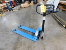 Uline 4400 lb. Quick-Lift Narrow Pallet Jack Model H-3762 (LOCATED IN ST. AUGUSTA, MN.)