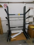 56 in. x 7 ft. x 40 in. (est.) Single-Side Cantilever Rack (LOCATED IN ST. AUGUSTA, MN.)
