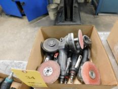 LOT: (6) Right Angle Die Grinders