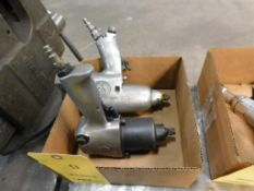 LOT: (2) 1/2 in. Pneumatic Impact Wrenches