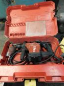 Hilti TE15 Rotary Hammer Drill, with Case