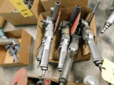LOT: (4) Pneumatic Angle Grinders