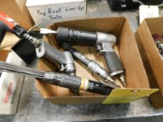 LOT: (4) Assorted Pneumatic Hand Tools