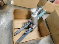 LOT: (2) Dynabrade 40320 Abrasive Belt Tools