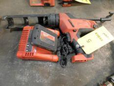 Milwaukee Caulk & Adhesive Gun, with Battery & Charger