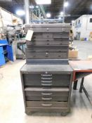 LOT: Portable 7-Drawer Tool Chest with Contents of Screw Drivers, Sockets, Wrenches, Hammers,