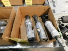 LOT: (3) 3/8 in. Pneumatic Ratchet Wrenches