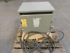 Temco Transformer, S/N V95807-10, 15 KVA, 3-Phase
