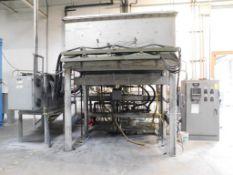 High Temperature Electric Sintering Furnace, 600 Liter Internal Volume, Positive Pressure Inert Gas,