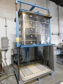 L&L Kilns Bell Lift Electric Kiln Model DaVinci T3445-D, 1290 Degree C Max. Temperature, 41.6 kw,