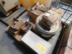 LOT: Fire Plates, Furnace Hardware & Parts on (1) Pallet