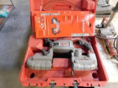 Milwaukee Band Saw with Case, Extra Saw Blades