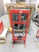 LOT: H-Frame Press with Big Red 12 Ton Bottle Jack