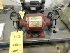 Northern Industrial 6 in. Bench Grinder, 1/2 HP