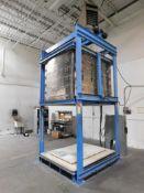L&L Kilns Bell Lift Electric Kiln Model DaVinci TB644754, 1290 Degree C Max. Temperature, 87.8 kw,