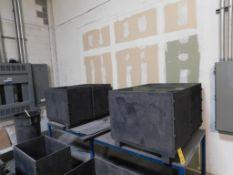 LOT: (4) Graphite Sintering Boxes