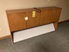 Wood upper cabinet