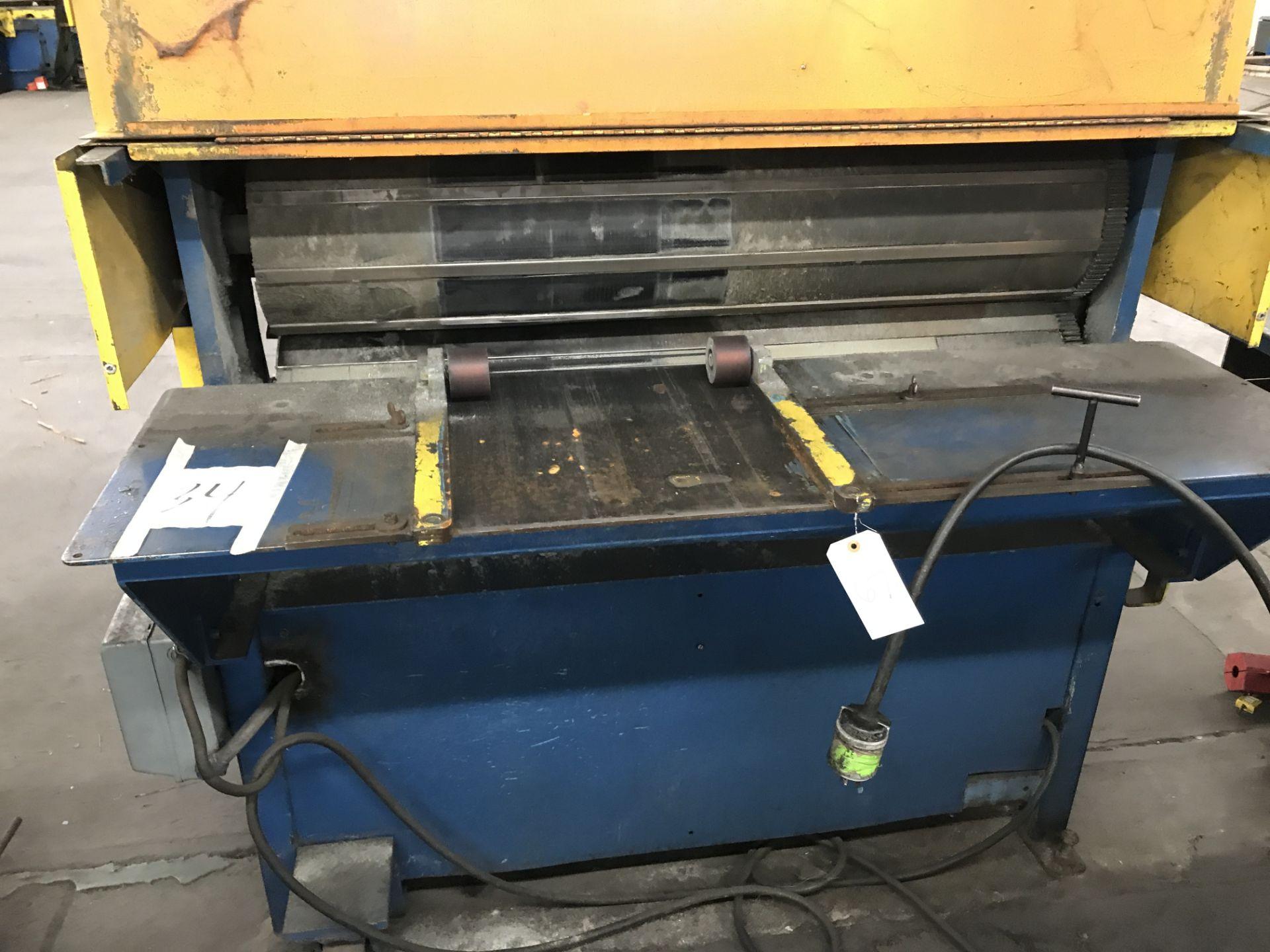 "Lot 067 - 48"" Clinton Corrugator Rolling Machine"