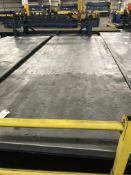 Rolling Table, 14'x4 1/2', 2,000 Lbs