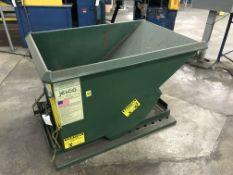 Jesco Model 211321 .75 Cubic Yard Hopper, 5000 lbs Capacity