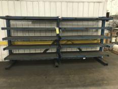 Shelf Unit, 6'Lx2'W shelves