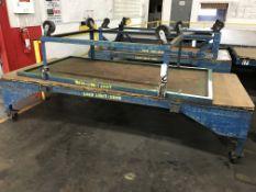RollingTables, 10'x4' / 8'x4', 2,000 lbs Capacity Ea.