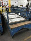Rolling Tables, 10'x4' / 8'x4', 2,000 Lbs Capacity Ea