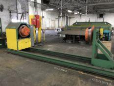 "120"" Wide x 3,000 lbs Cut-To-Length / Slitter Line"