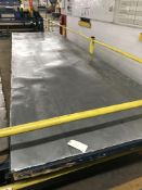 Rolling Table, 16' x 4 1/2', 3,000 lbs