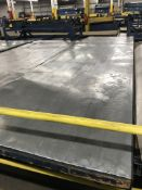 Rolling Table, 16'x4 1/2', 3,000 lbs