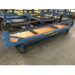 Rolling Tables, 12'x3' / 10'x3', 2,000 lbs Cap. Ea.