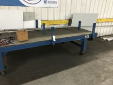 Rolling Table, 10'x3'