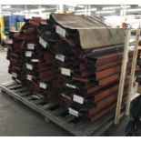 """Coil Holders - 48""""Lx28""""W V-Shaped Coil Holders"""