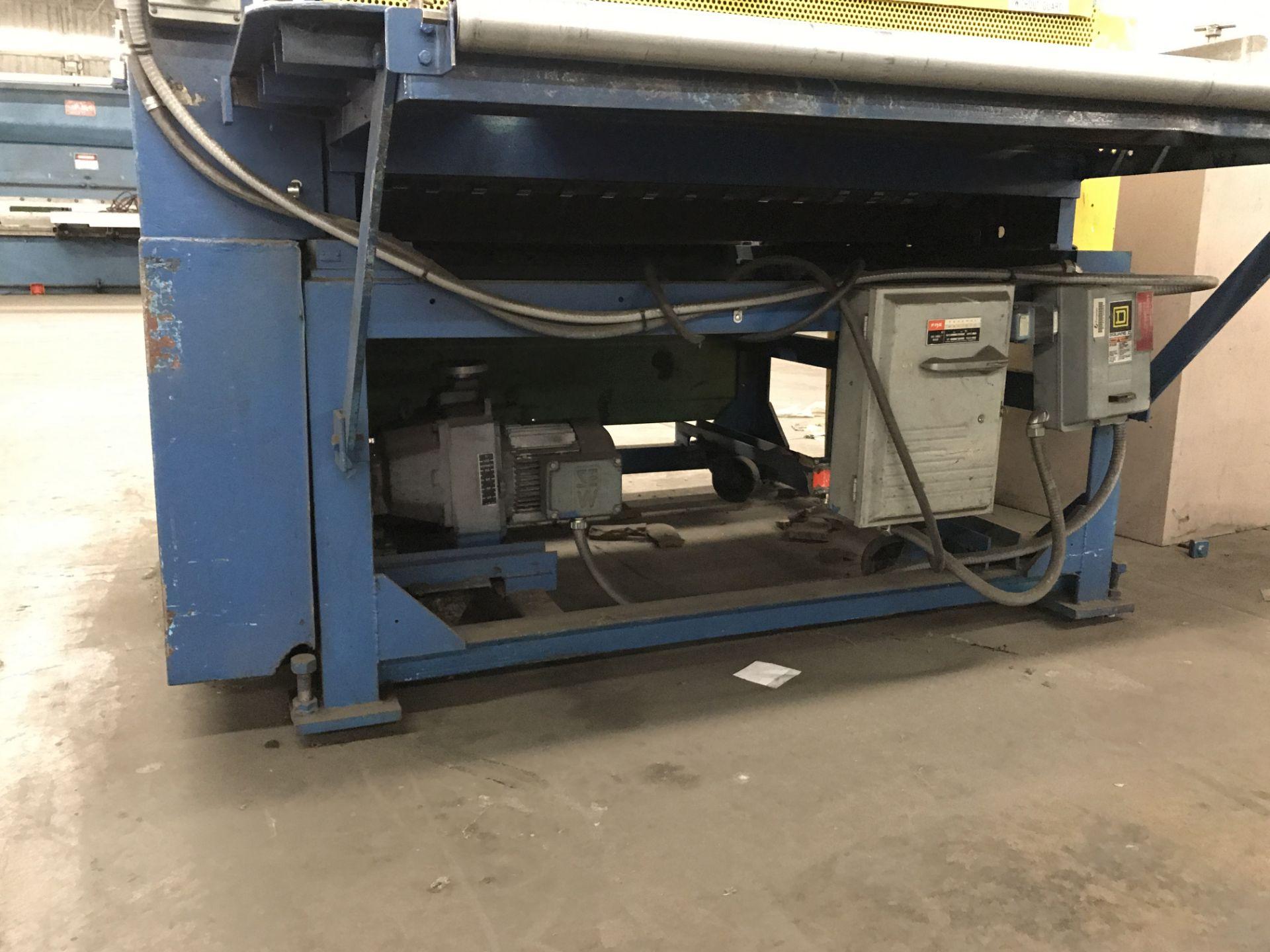 """Lot 070 - Mesa Roll Machine, 48"""" Wide Mesa Roll"""