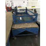 Rolling Tables, 8'x4' / 10'x4', 2,000 Lbs Capacity Ea