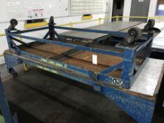 Rolling Tables, 8'x4', 10'x4', 2,000 lbs Capacity Ea.