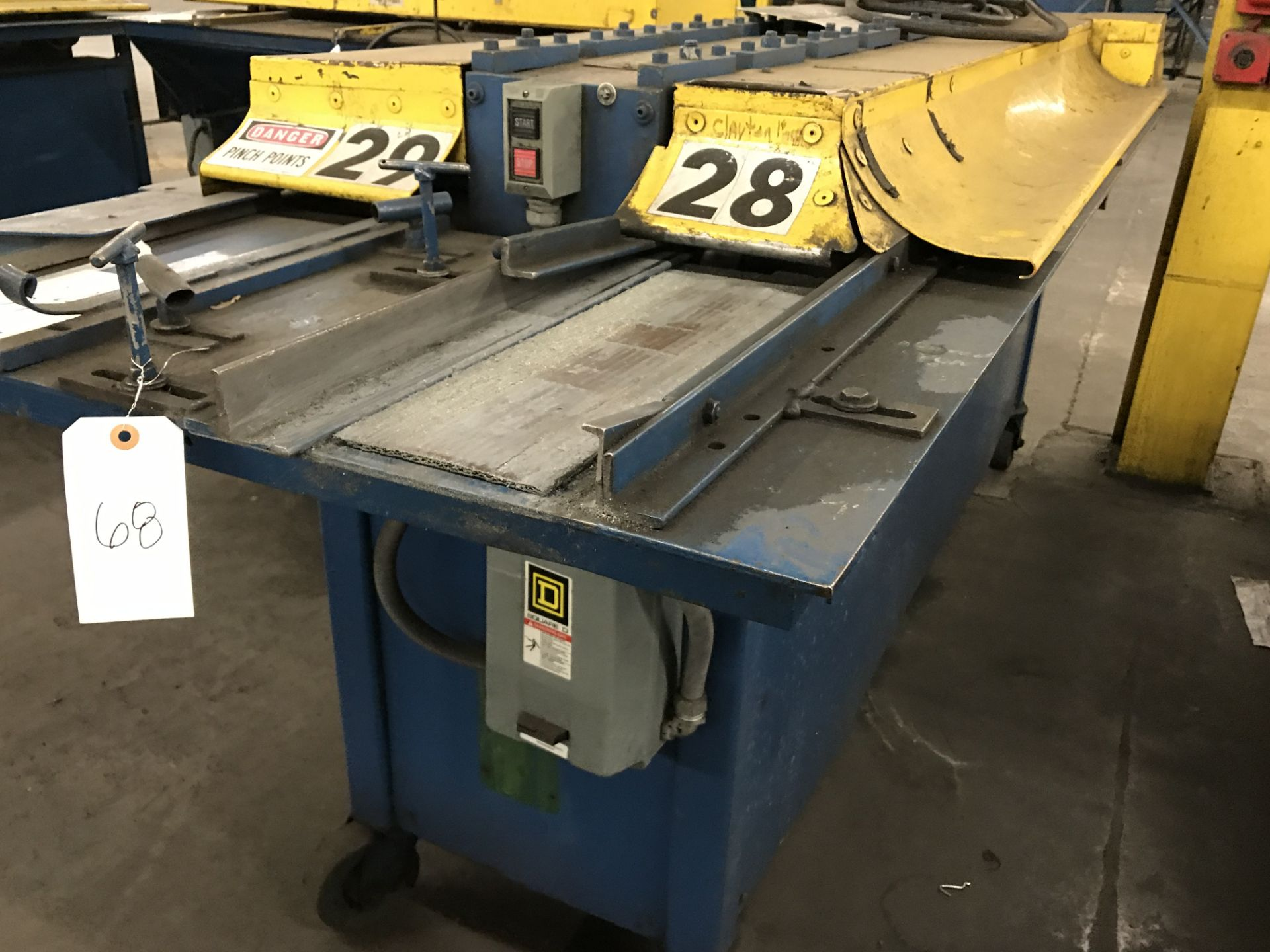 Lot 068 - 9 Stand Clinton Rollformer