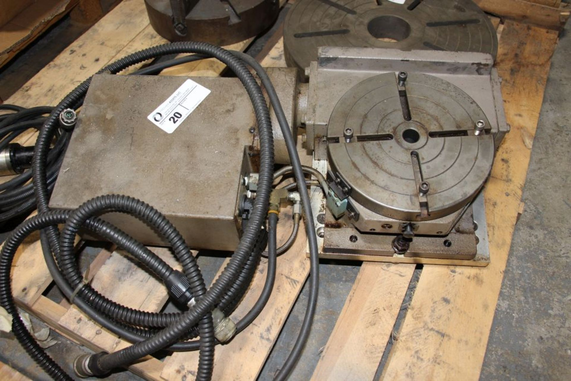 Lot 20 - Troyke 4th axis, model - NC-10-A, with Renshaw tool probe