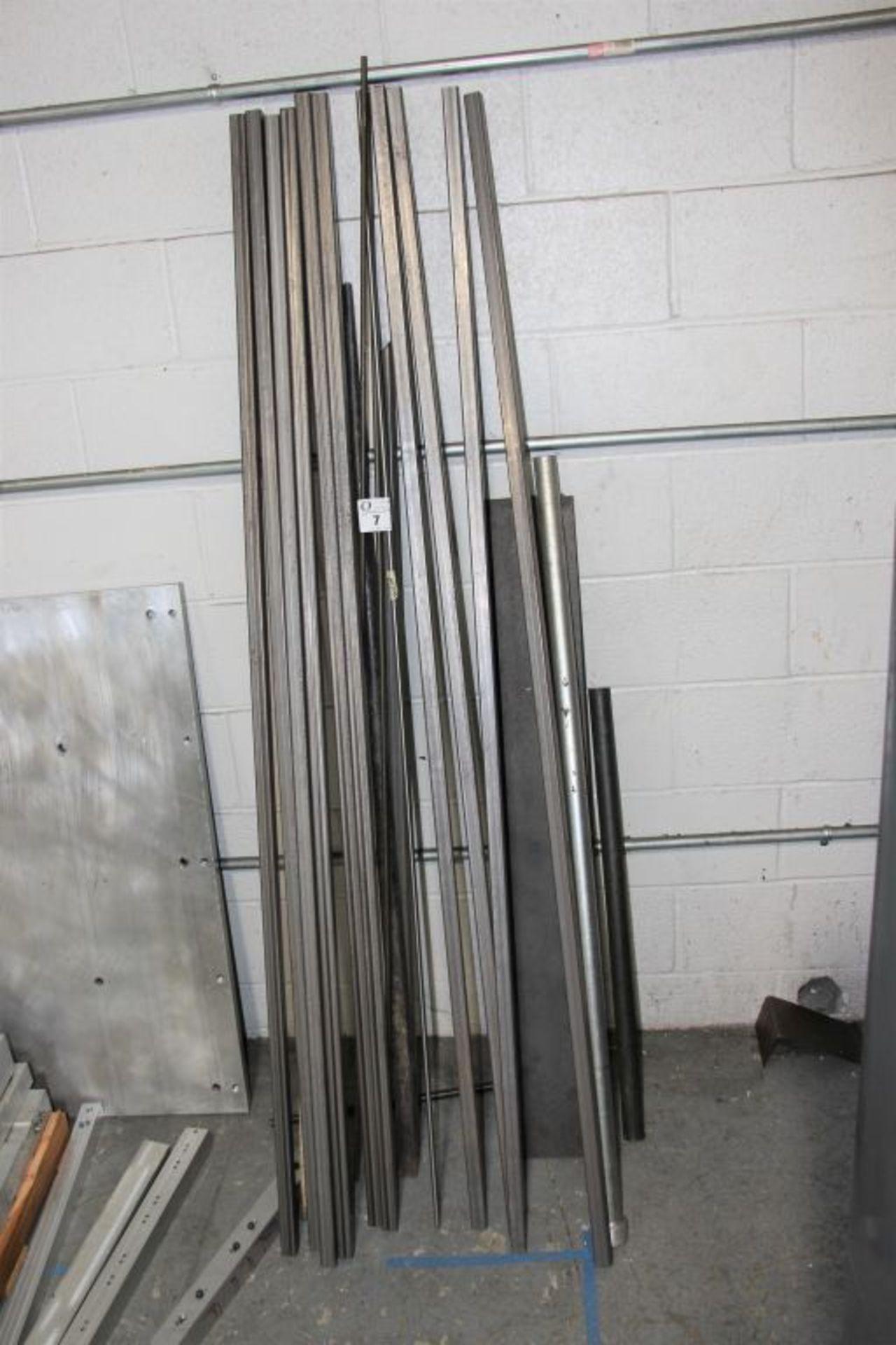 Lot 7 - assortment of square stock