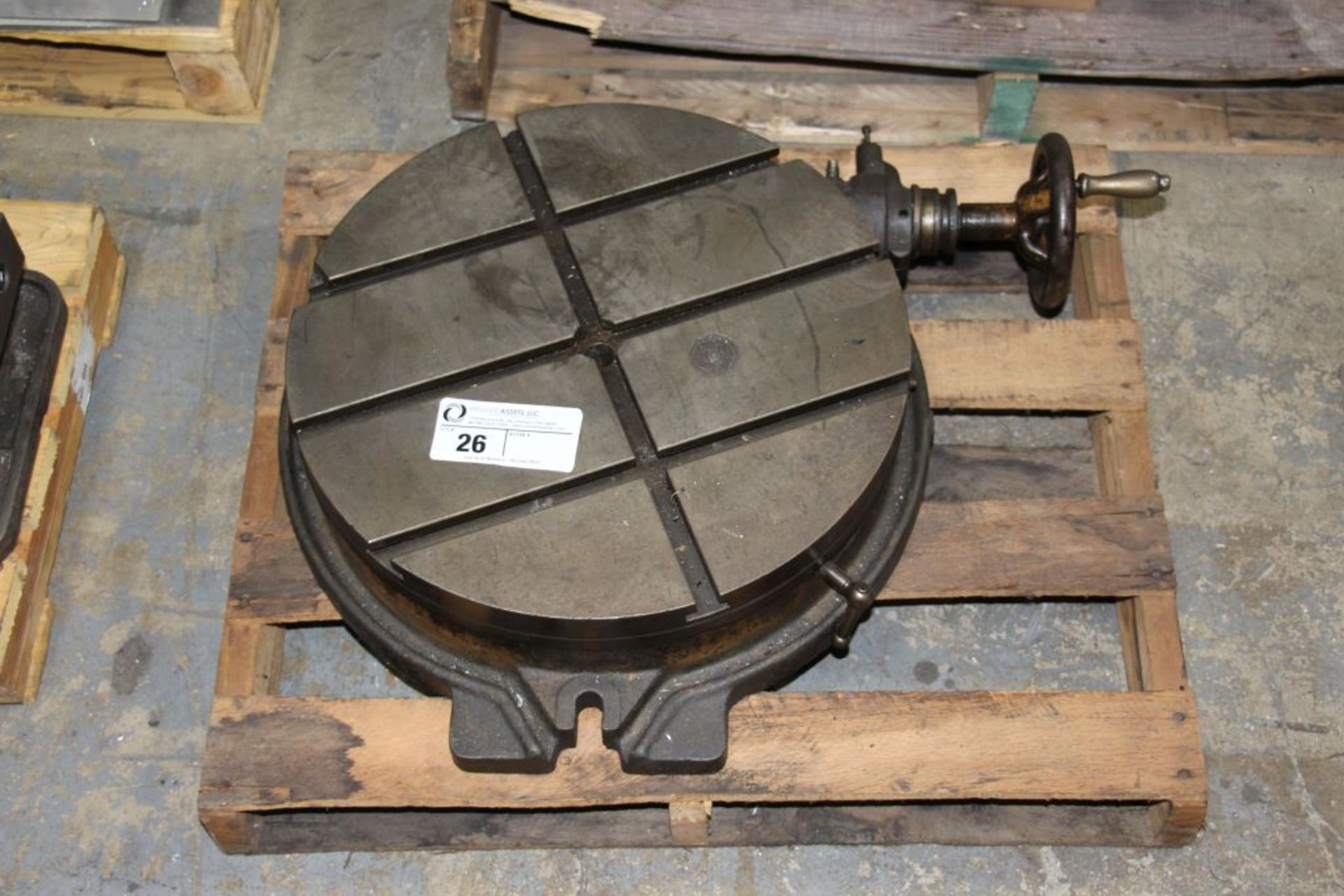 Lot 26 - rotary table