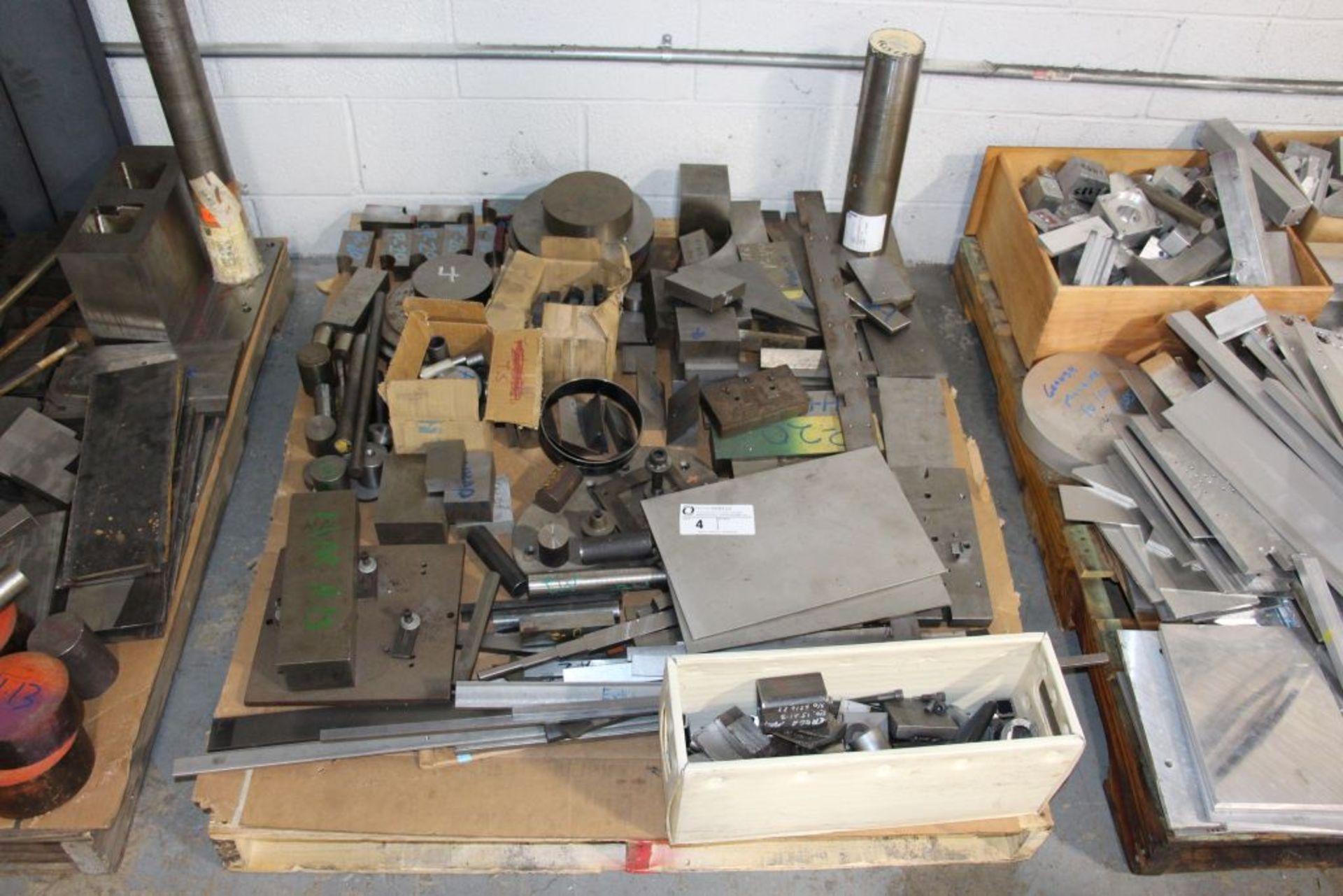 Lot 4 - assortment of scrap metal
