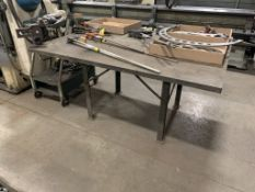 Versa Vise with 5'x4' work Table