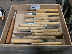 Misc. Wood Lathe Turning Chisels