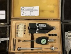 Boice dial bore gauge with gaging heads